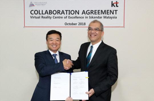 KT, 말레이시아 VR테마파크 사업 진출